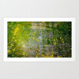 Yellow Spots. Art Print