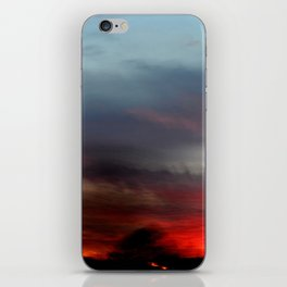 Night Lights Moving Sunset 20 iPhone Skin