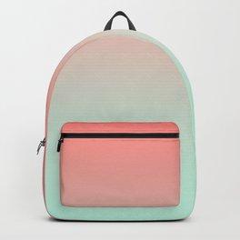 LAST FLIGHT - Minimal Plain Soft Mood Color Blend Prints Backpack