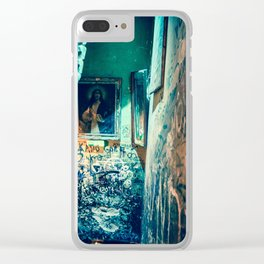 Jesus Clear iPhone Case