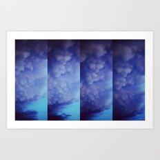 Mammatus Clouds Art Print