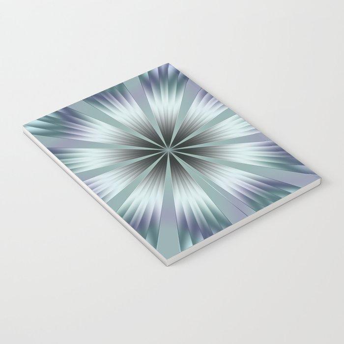 Winter Crinkle Notebook