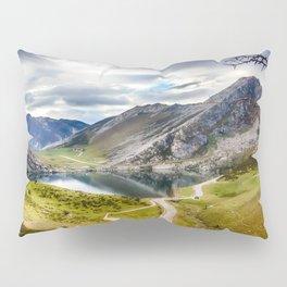 The Lakes of Covadonga, Enol Pillow Sham