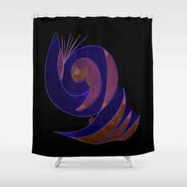 Aura II Shower Curtain