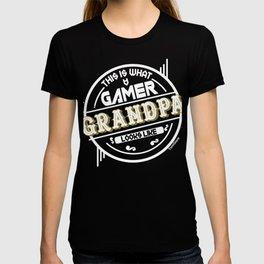 Retro Gamer Grandpa T-shirt