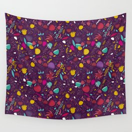 purple seeds Wall Tapestry