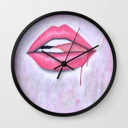 Bite it. Wall Clock