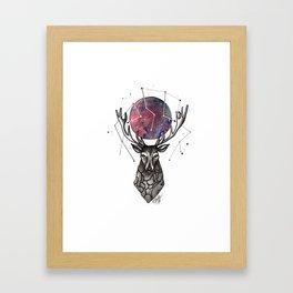 enemy of the snake Framed Art Print