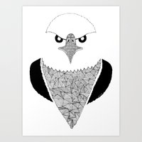 eagle Art Prints featuring Eagle by Art & Be