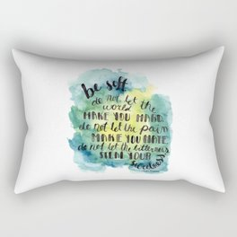 Be Soft Rectangular Pillow