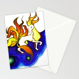 Ninetales. Stationery Cards