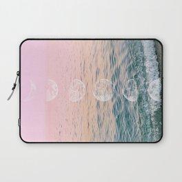 Moontime on the Beach Laptop Sleeve