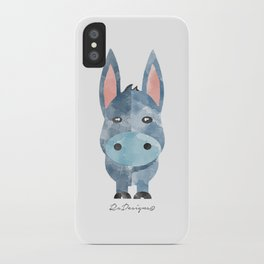 Water Colour Baby Donkey iPhone Case