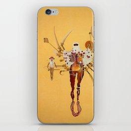 shahzia sikander iPhone Skin