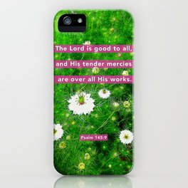 Tender Mercies iPhone Case