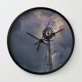 Wind and Weather Wall Clock