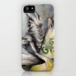 Celtic Keeper Dragon iPhone Case