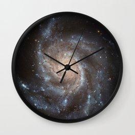 Messier 77 Spiral Galaxy  Wall Clock