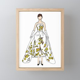Audrey 12 Framed Mini Art Print