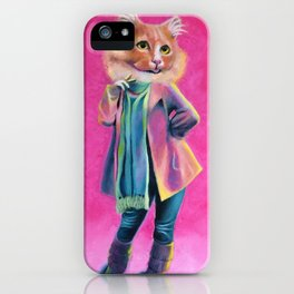Disco Cat iPhone Case