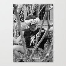 Nu Goth Fairy Canvas Print
