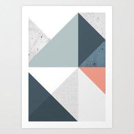 Modern Geometric 12 Art Print