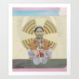 El Ona Lily Art Print