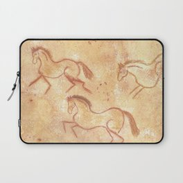 Cave Drawing of Horses Laptop Sleeve