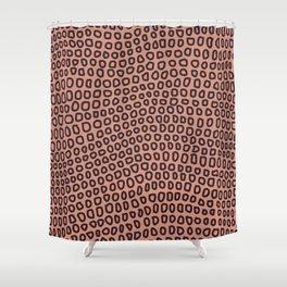 William Johnson: Circles Shower Curtain