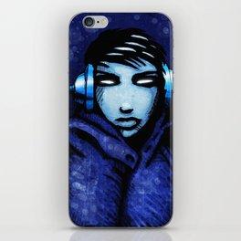 CyberGirl iPhone Skin