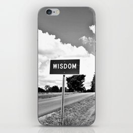 The Road to Wisdom iPhone Skin