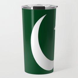 Flag of Pakistan Travel Mug