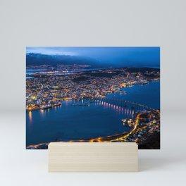 Panoramic Tromso Mini Art Print