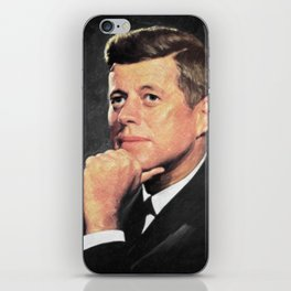 John F Kennedy iPhone Skin