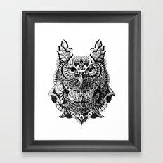 Century Owl Framed Art Print