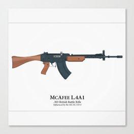 Fantasy Battle Rifle Canvas Print