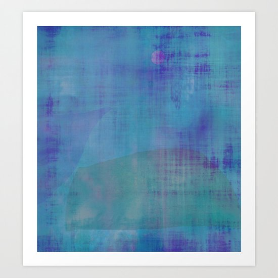 Off the Coast ~ Abstract Art Print