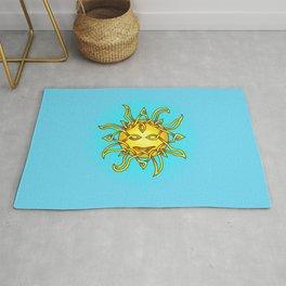 Sun Knot Rug