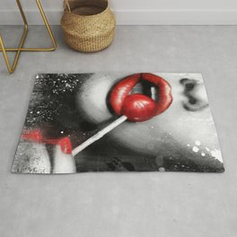 Redlip Lollipop Rug
