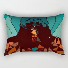 Mountain Dawn Rectangular Pillow