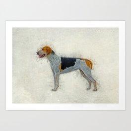 American Foxhound Art Print
