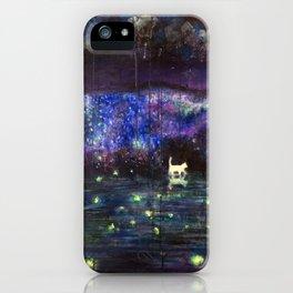 Midnight in garden iPhone Case