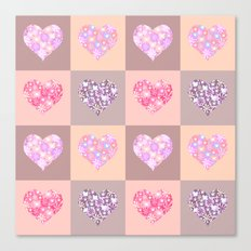 Hearts. Canvas Print