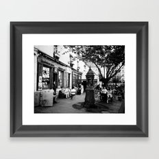 SHAKESPEARE IN PARIS. Framed Art Print