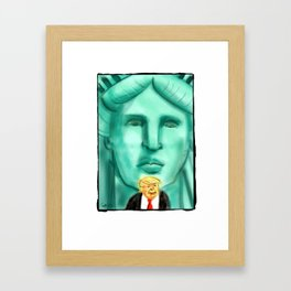 We're Watching You Framed Art Print