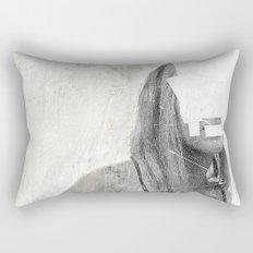 Faceless | number 03 Rectangular Pillow