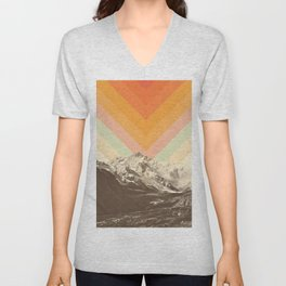 Mountainscape 2 Unisex V-Neck
