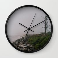 oregon Wall Clocks featuring Oregon Coast: II // Oregon by Corrie Mick