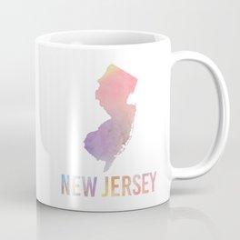 Watercolor State - NJ Coffee Mug