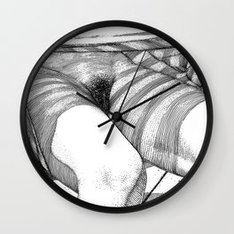 asc 740 - La manche à vent (Pay attention to the wind direction) Wall Clock